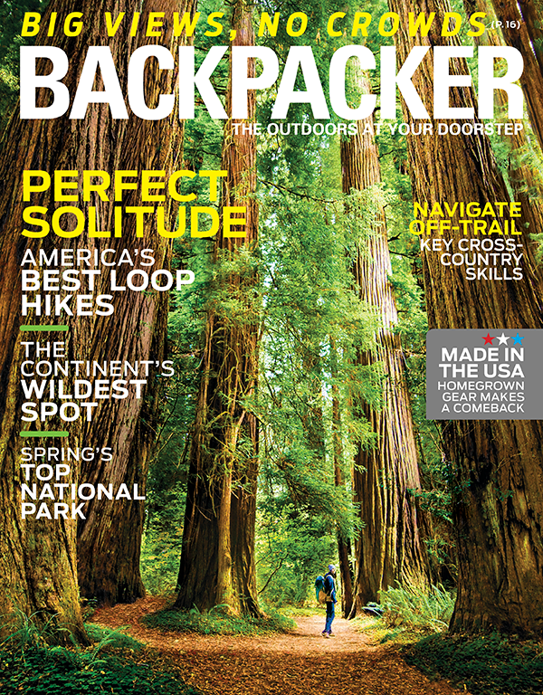 Backpacker March Issue