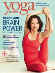 Yoga Journal Cover